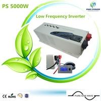 CE,ROHS,ISO9001 approved, ups 24v 240v inverter 5000w inverter pure sine wave combined inverter with charger