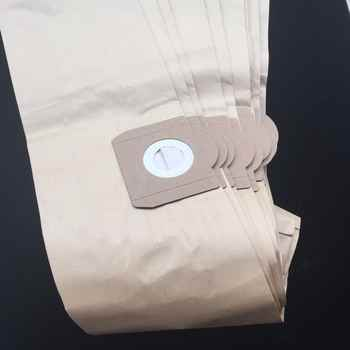 Free shipping 10pcs Paper dust bags suitable for ROWENTA ZR81 ZR814 ZR82 Karcher A2700 Hoover H31 S6145 19L filter Bags