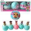 3pcs Set Lol Surprise Ball L Q L Dolls Surpresa Eggs Funny Toys For Children Girl