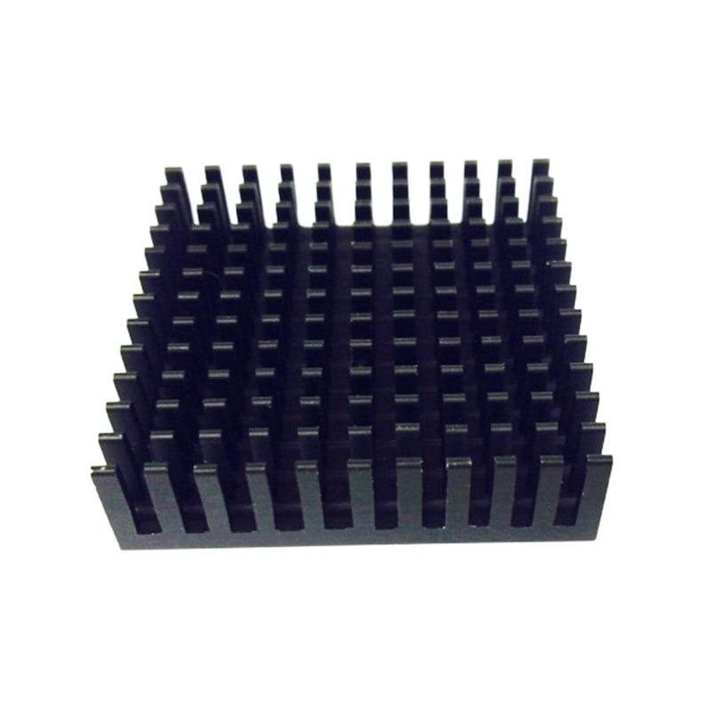 Image 2 - 2Pcs 40*40*11mm Professional Desktop Heatsink Radiator Aluminum Heatsink Extruded Profile Heat Sink Electronic Heat Sink YL 0014-in Fans & Cooling from Computer & Office