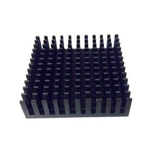 Image 2 - 2Pcs 40*40*11mm Professional Desktop Heatsink Radiator Aluminum Heatsink Extruded Profile Heat Sink Electronic Heat Sink YL 0014