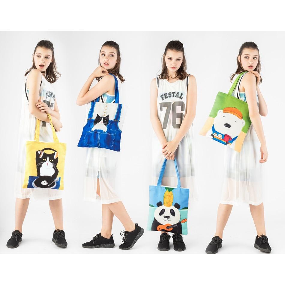 Bolsos Mujer Luxury Handbags Bags Designer Original Design New Animal Printed Shoulder Bag Japanese Carrying Shopping Bags Of