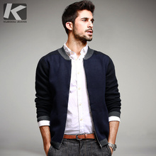 Autumn Mens Casual Sweaters Patchwork Knitted Cardigan Knitting Brand Clothing Man's Knitwear Sweatercoats Plus Size