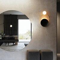 Işıklar ve Aydınlatma'ten LED İç Mekan Duvar Lambaları'de Postmodern yaratıcı donanım oturma odası duvar lambası sanat başucu yatak odası tasarımcı modeli odası duvar lambası