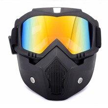 RZOJUNMA Ski Skate Motorcycle Goggle Motocross Goggles Helmet Glasses Windproof off Road Moto Cross Helmets Mask Goggles