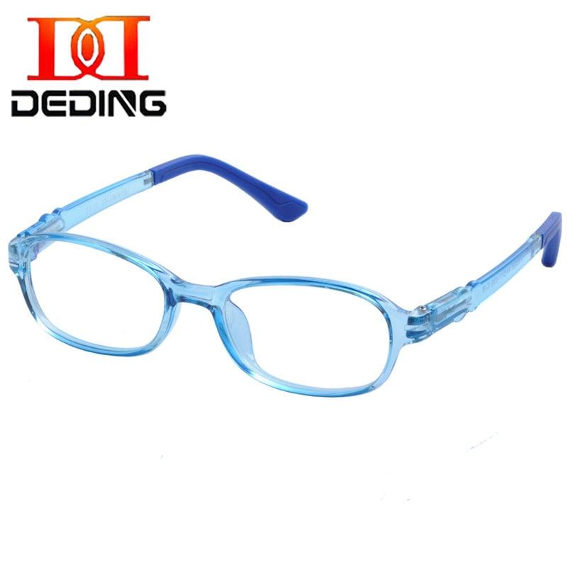 DeDing Kinderbrille Rahmen Mit Kunststoff Frühling Kabel, Brille ...