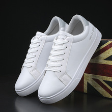 Spring And Summer Fashion Mens Casual Shoes Lace-Up Breathable White Sneakers Trainers Zapatillas Hombre