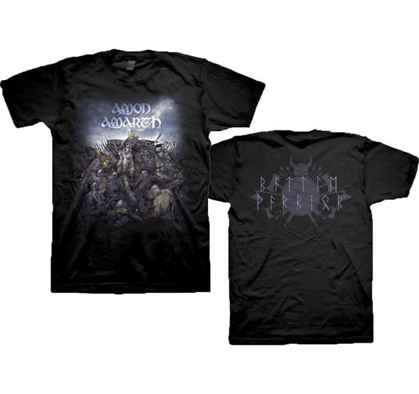 Amon Amarth Battle Warrior T Shirt S M L Xl Brand New Official T Shirt