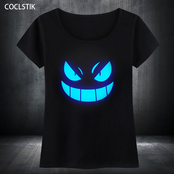 Anime Men Casual T-shirt (Glow in the Dark)