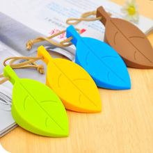 Anti-pinch Safety Baby Silicone Door Stop Security Card Home Decor 4 Colors Hanging Door Stopper Cute Cartoon Leaf Style door stop alarm great for traveling security door stopper doorstop safety tools for home