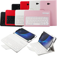 New PU Leather Stand Cover Case + Detachable Wireless Bluetooth Keyboard For Samsung Galaxy Tab A 10.1inch T580 QJY99