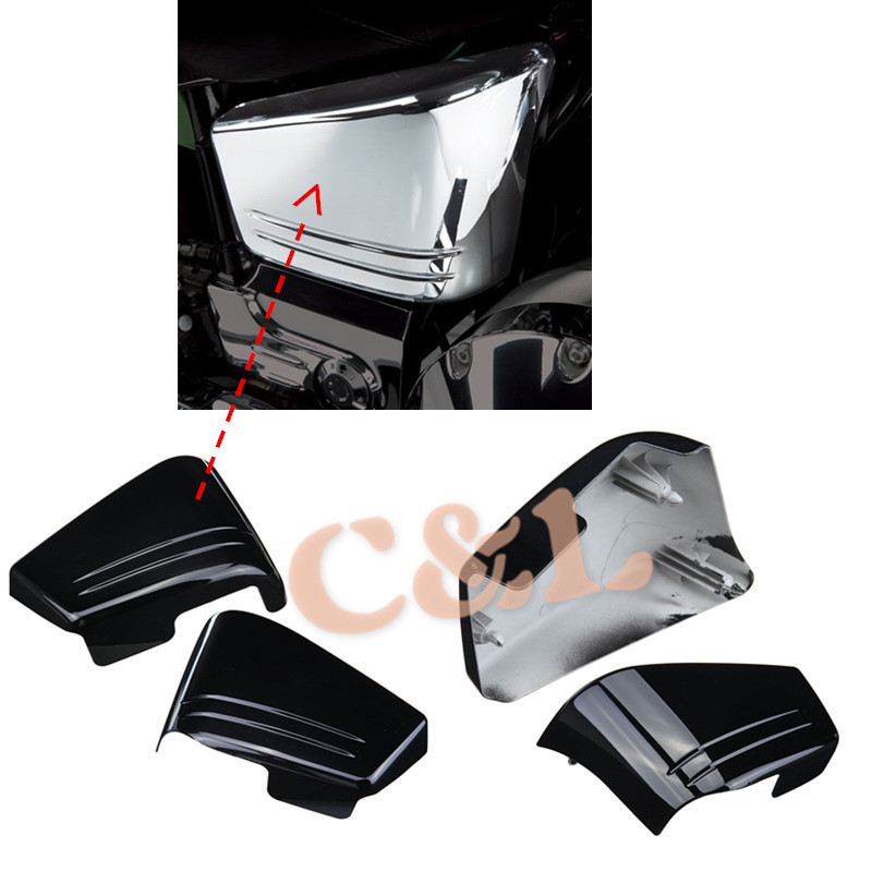 Motorcycle Black Fairing Battery Side Cover Fit For Honda VTX 1800 C  VTX1800C Custom 2002 2008 In Covers U0026 Ornamental Mouldings From Automobiles  ...