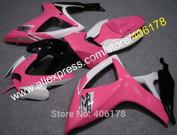 Hot Sales,2006 2007 For suzuki gsxr 600 750 fairings kit 06 07 K6 GSXR600 GSXR750 custom gsxr fairings (Injection molding)