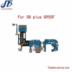 Image 5 - 50 stks/partij Voor Samsung Galaxy S8 plus G955F/G955U lader opladen connector usb dock port plug flex kabel Lint