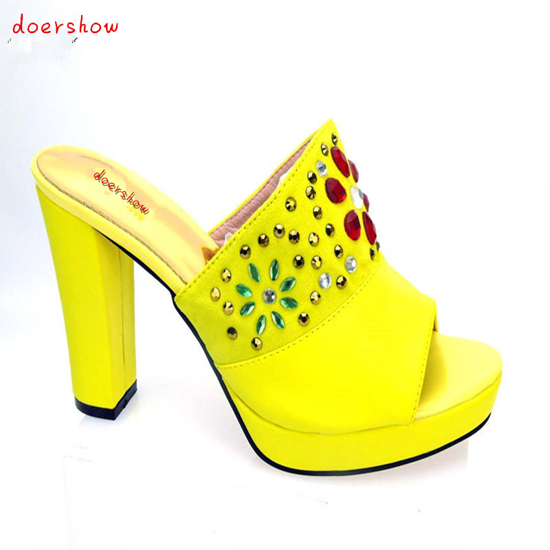 doershow Shoes and Bags Matching Set High Quality Italian Matching Shoe and Bag Set Italy Shoe and Bag Match To Party PYS1-9 doershow new fashion italian shoes with matching bags for party african shoes and bags set for wedding shoe and bag set wvl1 19