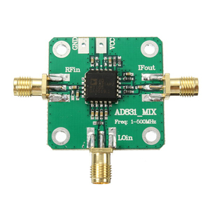Image 2 - 0.1 500MHz AD831 high frequency RF mixer drive Amplifier Module Board HF VHF/UHF