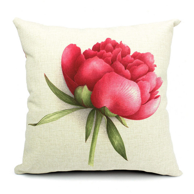 Euro Style Home Decor Cushion Cover Throw Pillows Sofa Char Seat Vintage Flowers Cushion Cover for Sofa Decorative Pillow Cover