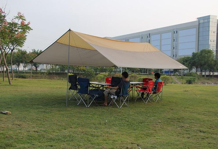 Outdoor Sun Shelter Tent C&ing Beach Tent Sun Shelter Waterproof Gazebo Canopy Tnet Garden Car Sun Shade-in Sun Shelter from Sports u0026 Entertainment on ... & Outdoor Sun Shelter Tent Camping Beach Tent Sun Shelter Waterproof ...