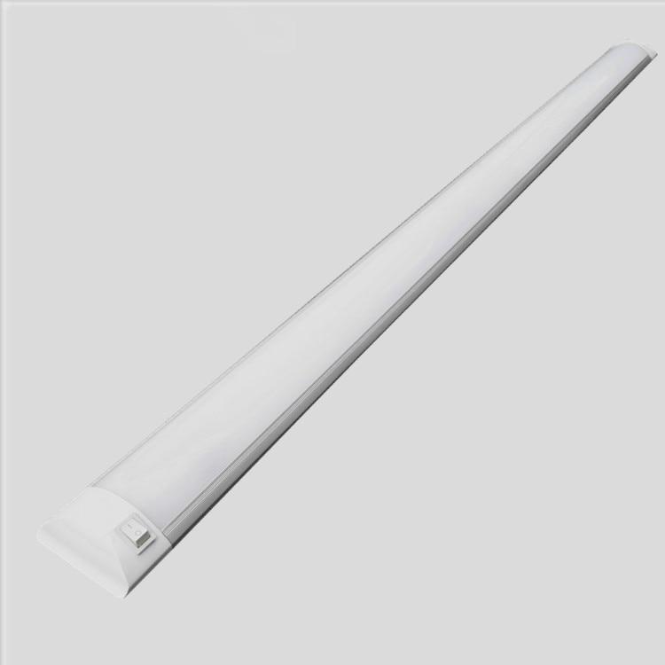 Led staub prävention und korrosionsschutz integrierte doppelrohr fluoreszierende druckschalter ultradünne reinigung wandleuchte
