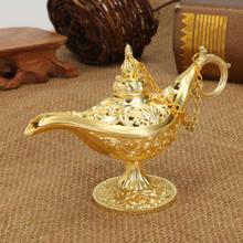 Aladdin Magic Lamp Wishing Tea Pot Genie Lamp Vintage Retro Toy For Home Decor Ornaments