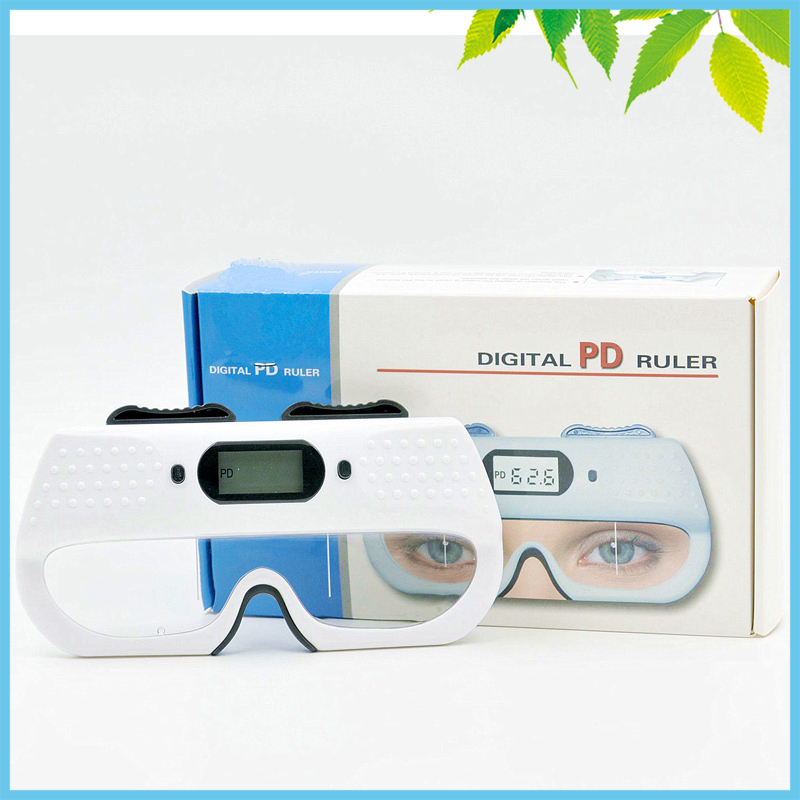 Left Right Pupil Distance Displayed Separately Optical Digital Pupilometer P.D. Ruler Centrometer Eyesight Test Instrument 2pcs left