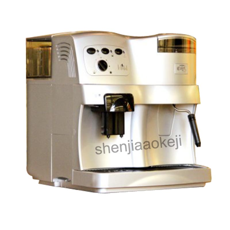 220V Automatic Coffee Machine with grinder Commercial pump pressure multi-function coffee machine ABS plastic220V Automatic Coffee Machine with grinder Commercial pump pressure multi-function coffee machine ABS plastic