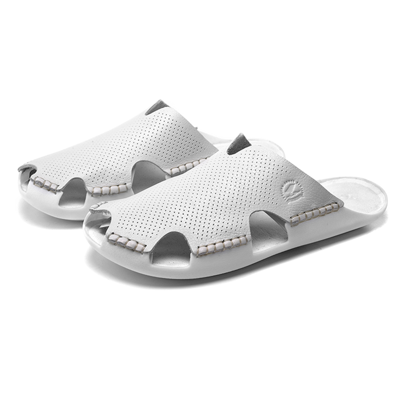 popular mens closed toe leather sandals buy cheap mens