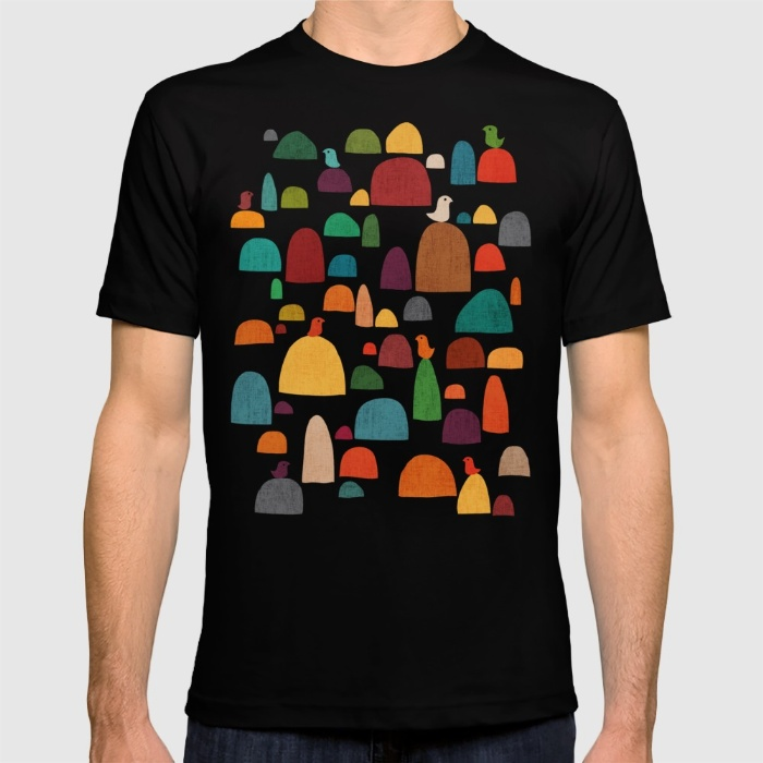 2017 Spring Favourite T Shirts Mens The Zen Garden Short O