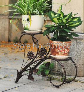 Etonnant New Iron Flower Pots Rack Balcony Indoor Flower Racks Flower Plant Stands,  Garden Decor Metal