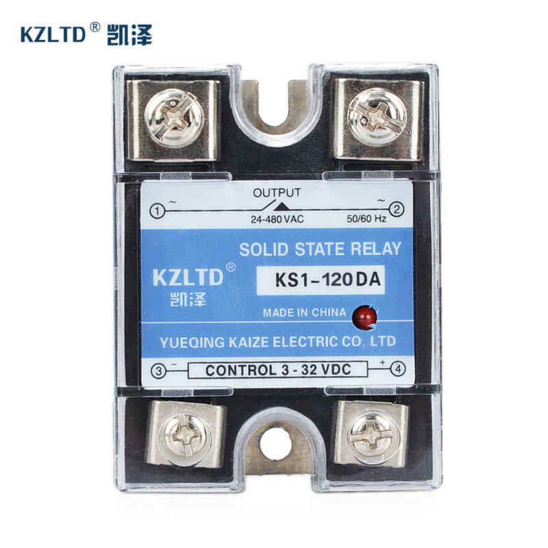 AC-AC 70-280VAC Input 380VAC Output SSR 25A A3825Z 3 Phase Solid State Relay