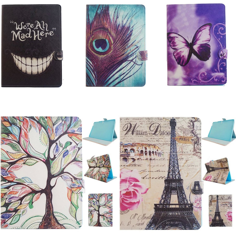 купить XX Fashion Cute Tower feather Stand Wallet Book PU Leather Cover Case For Samsung Galaxy Tab S 10.5'' SM T800 T805 Tablet PC недорого