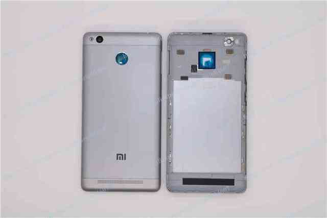 New OEM Gray Back Battery Metal Replacement Housing Cover Case For Xiaomi Mi Redmi 3S Phone