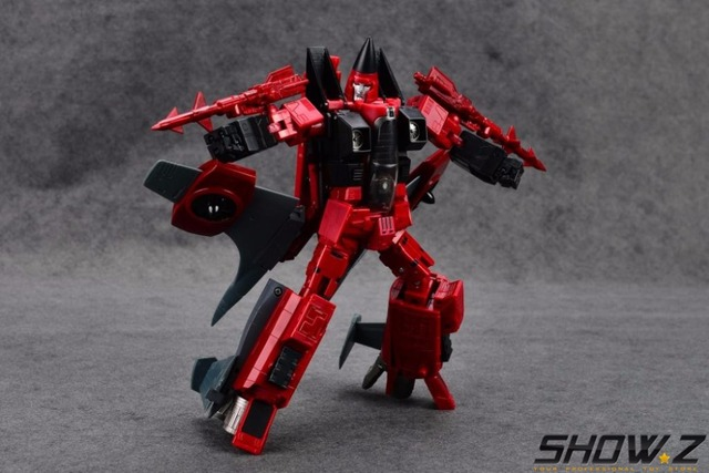 [Show.Z Store] YM 05 Cone heads Thrust BBQ BB7 Transformation Masterpiece MP11NT Conehead Seeker With Metal Parts