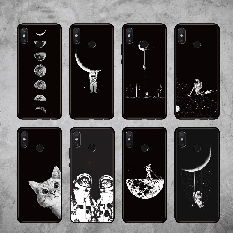 Cellphones & Telecommunications 221aq Astronaut Space Moon Silicone Soft Tpu Cover Phone Case For Xiaomi Redmi 4a 6a 4x Note 5a Pro Mi A1