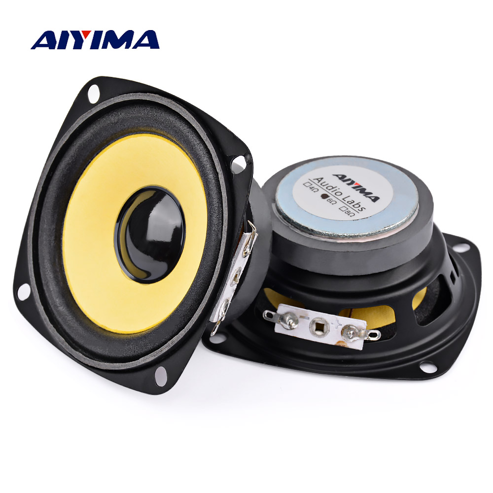 6ca39392e AIYIMA 2Pcs 3inch 6 Ohm 5W Satellites Speaker Full-Range DIY Speakers  Loudspeaker Multimedia Radio Mini Portable home theater