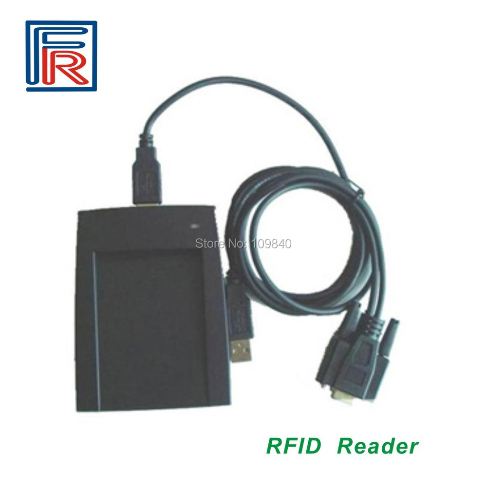 Free Shipping RS232 RFID Proximity Reader,125khz ID card reader,EM card reader free shipping rfid reader proximity keypad em id card reader with wiegand26 34 output for access control sn 08f id min 5pcs