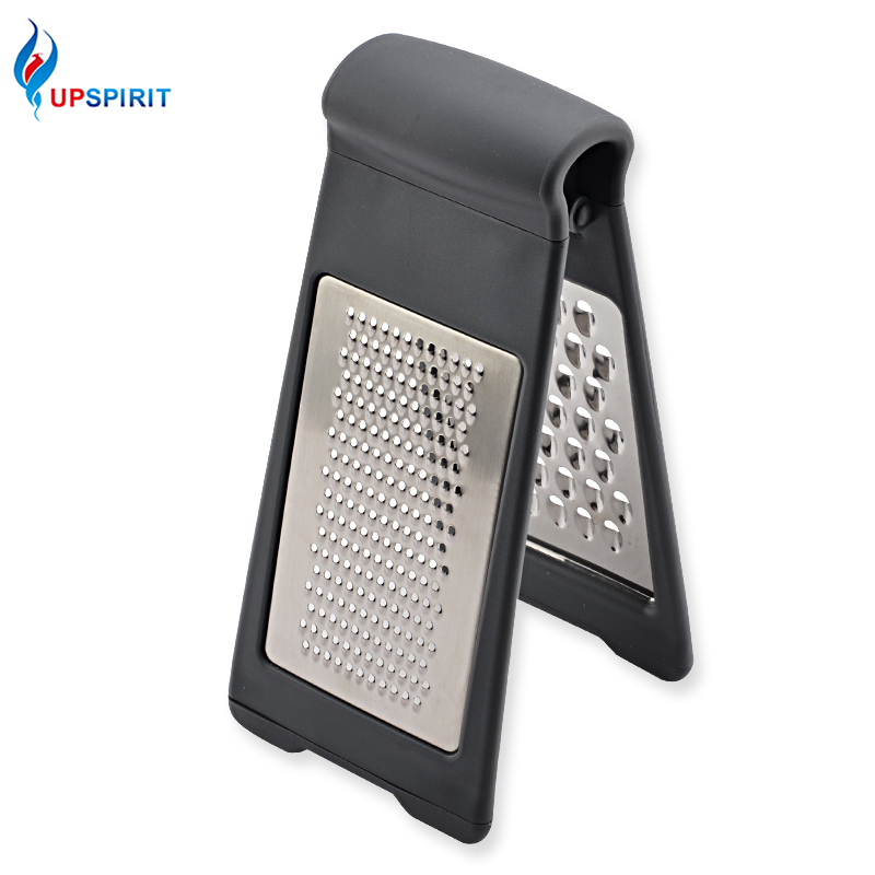 Upspirit Double Side Grater Vegetables Cutter Carrot Onion Cucumber Slicer Stainless Steel Cheese Shredder Kitchen Accessories