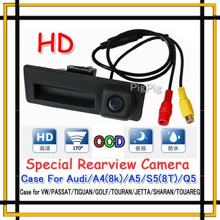 Bonjour-YX Store Trunk handle Night vision CCD HD Car Parking Rear View Camera Case for Audi/VW/Passat/Tiguan/Golf/Touran/Jetta/Sharan/Touareg