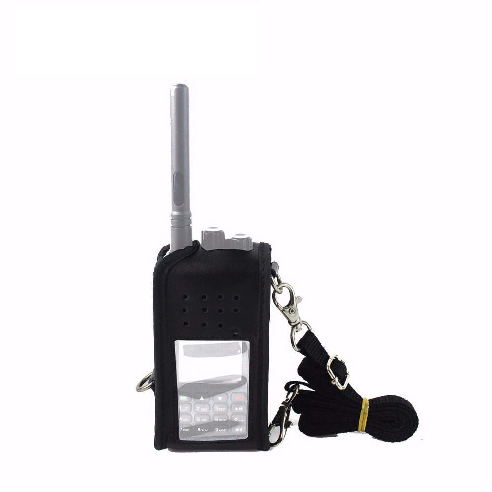 Radio Case Carrying Holder Holster for Retevis RT3 TYT MD-380 Walkie Talkie New