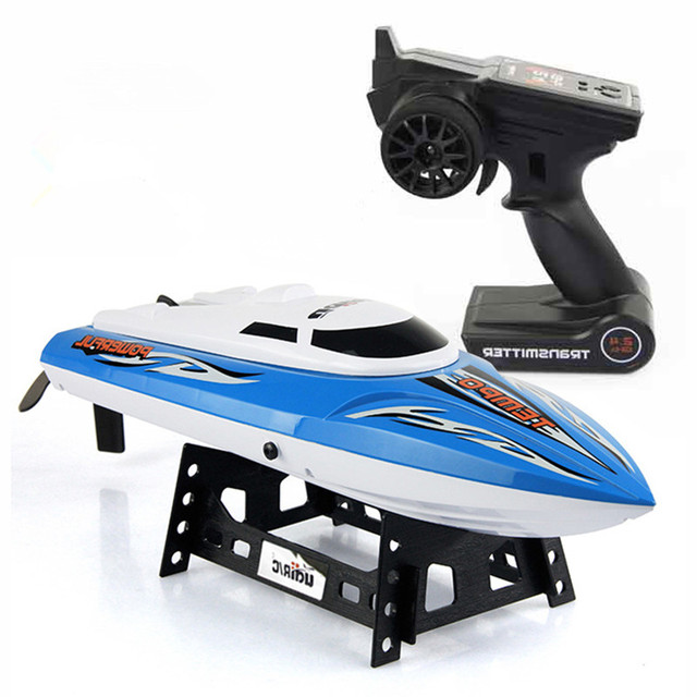 2016 Hot Sell New 902 2.4G RC Racing Boat RTR Speedboat Water Cooling blue&green rc ship&boat