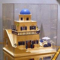 DIY остров виллы, ручной сборки модель дом, дом строительные игрушки, милые, Модель игрушки, романтические подарки на день рождения