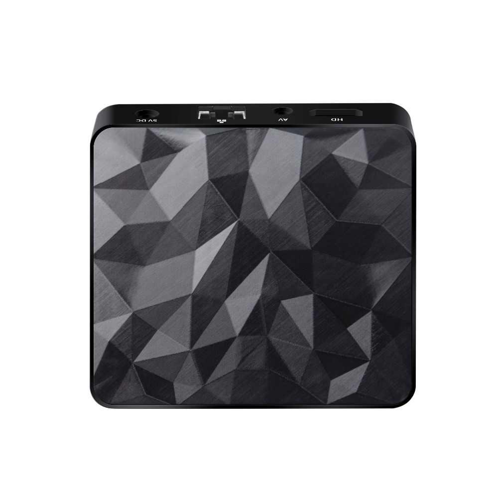 ريسيفر لتليفزيونات أندرويد الذكيّة Q96 2GB RAM 16 GB ROM Amlogic S905W رباعية النواة 4 K HD 2.4 GHz WiFi Bluetooth2.1 مشغل الوسائط مجموعة أعلى مربع