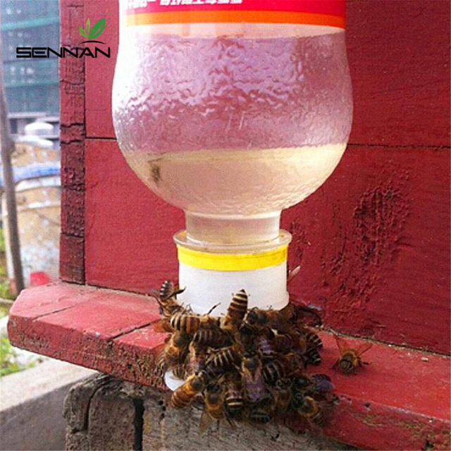 SenNan 2 Pcs Drinking Fountain Bee Queen Bee Drinking Water Equipment Easy Installation Easy To Operate Beekeeping Tools