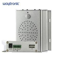 Infrared Motion Sensor Doorbell Audio Speaker Hotel Hall Door Welcome Alarm 12V Ceiling Wall Mount MP3 Files USB Download