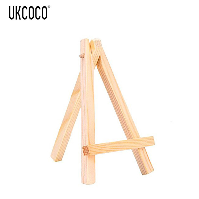 12pcs Mini Wooden Display Easels 7*12cm Wood Easel Stand For Smart ...