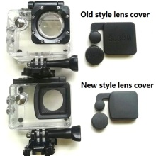 New/Old Model SJCAM Clownfish 4000 Lens Cap Cover And Hood For SJCAM SJ4000 WIFI/SJ4000 + Waterproof Housing Case Sports Camera