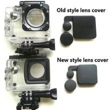 New/Old Model SJCAM Clownfish 4000 Lens Cap Cover And Hood For SJCAM SJ4000 WIFI/SJ4000 + Waterproof Housing Case Sports Camera
