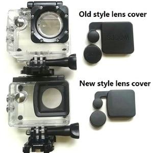 Image 1 - חדש/ישן דגם SJCAM דגי ליצן 4000 כיסוי מכסה עדשה הוד עבור SJCAM SJ4000 WIFI/SJ4000 + עמיד למים מקרה דיור מצלמה ספורט
