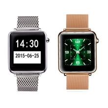 L1 a9ล่าสุดสายนาฬิกาข้อมือsmart watchบลูทูธสนับสนุนกันน้ำรับสายอยู่ประจำที่เตือนpk gt88 dz09 a1 apple watch a1