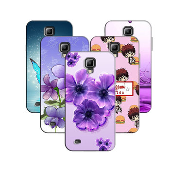 448b2de0b80 Funda de teléfono para Samsung (Galaxy S4 mini) s4Mini GT-I9190 i9195 i9192  4.3 pulgadas original impreso cubierta coque contraportada